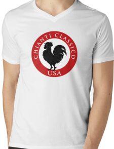 Black Rooster USA Chianti Classico  Mens V-Neck T-Shirt