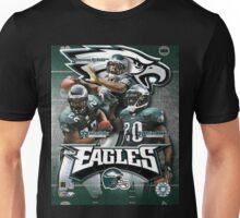 Philadelphia Eagles QB Donovan McNabb RB Duce Staley & S Brian Dawkins Unisex T-Shirt