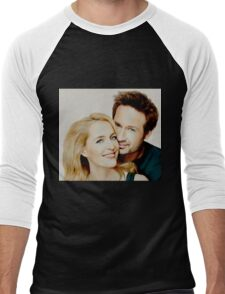 Gillian and David painting Men's Baseball ¾ T-Shirt