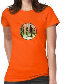Running Womens Fitted T-Shirt