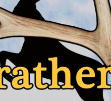 I'd rather be shed hunting Sticker