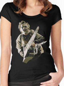 Texas Chainsaw Women's Fitted Scoop T-Shirt