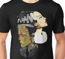 Frankenstein's Monster and his bride Unisex T-Shirt