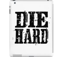 die hard classic hollywood movies movie film acton t shirts iPad Case/Skin