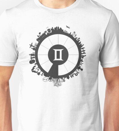 Astrology Collection: Gemini - Around The Zodiac Unisex T-Shirt