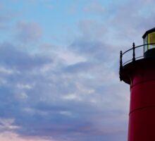 Nauset Lighthouse Blue Hour I Sticker