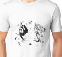Mermaid warriors Unisex T-Shirt