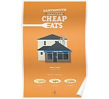 Halifax Cheap Eats - John's Lunch Poster Poster