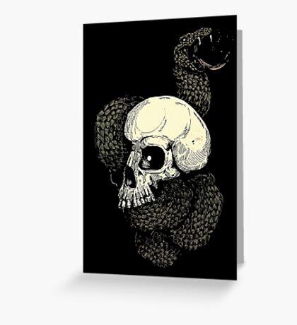 The Dark Mark  Greeting Card