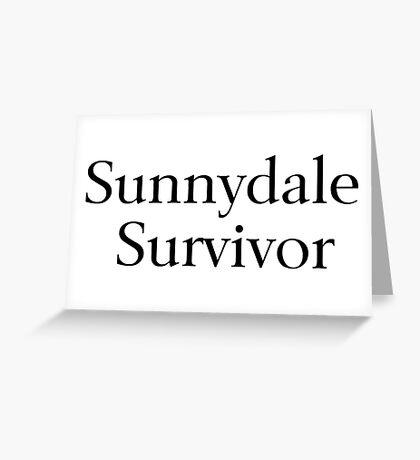 Sunnydale Survivor Greeting Card
