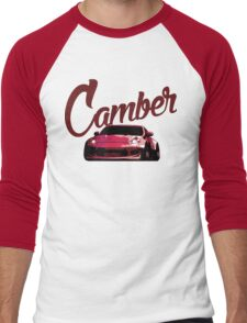 Camber 370Z (Red) Men's Baseball ¾ T-Shirt