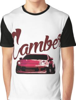 Camber 370Z (Red) Graphic T-Shirt