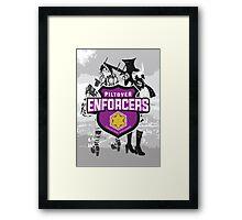 LoL Vi & Caitlyn, the Piltover Enforcers Framed Print