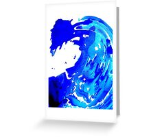 Save The Water Watercolour Greeting Card