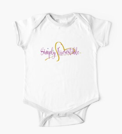 Simply Irresistible One Piece - Short Sleeve