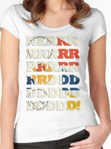 NERRRDD! [Classic] Women's Fitted Scoop T-Shirt
