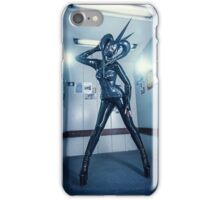 Latex kinky alien iPhone Case/Skin