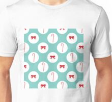 Ribbons and candycanes Unisex T-Shirt