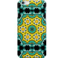 Psychedelic jungle kaleidoscope ornament 2 iPhone Case/Skin
