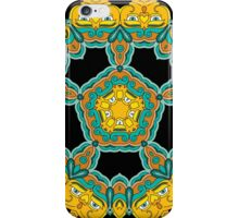 Psychedelic jungle kaleidoscope ornament 3 iPhone Case/Skin