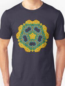 Psychedelic jungle kaleidoscope ornament 3 T-Shirt