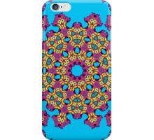 Psychedelic jungle kaleidoscope ornament 4 iPhone Case/Skin