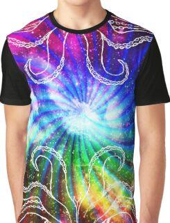 Rainbow octopus Graphic T-Shirt