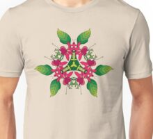Psychedelic jungle kaleidoscope ornament 5 Unisex T-Shirt