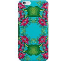 Psychedelic jungle kaleidoscope ornament 6 iPhone Case/Skin