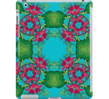 Psychedelic jungle kaleidoscope ornament 6 iPad Case/Skin