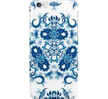 Psychedelic jungle kaleidoscope ornament 7 iPhone Case/Skin