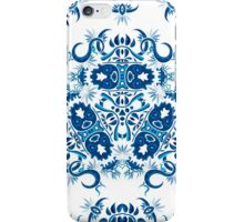 Psychedelic jungle kaleidoscope ornament 7 iPhone Case/Skin