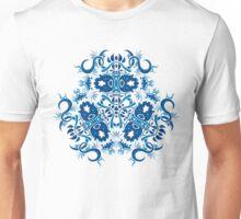 Psychedelic jungle kaleidoscope ornament 7 Unisex T-Shirt