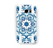 Psychedelic jungle kaleidoscope ornament 8 Samsung Galaxy Case/Skin