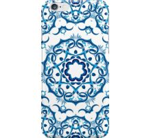 Psychedelic jungle kaleidoscope ornament 9 iPhone Case/Skin