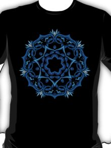 Psychedelic jungle kaleidoscope ornament 9 T-Shirt