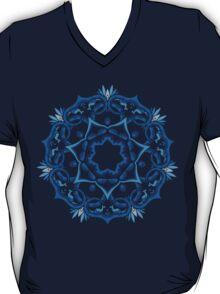 Psychedelic jungle kaleidoscope ornament 9 T-Shirt