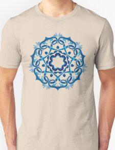 Psychedelic jungle kaleidoscope ornament 9 Unisex T-Shirt