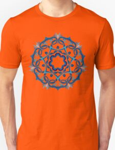 Psychedelic jungle kaleidoscope ornament 9 Unisex T-Shirt