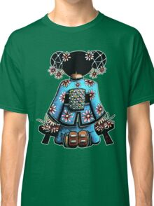 Asia Blue Doll (large design) Classic T-Shirt