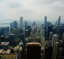 Chicago Skyline  by HysteriaWear