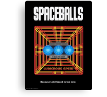 Spaceballs: Ludicrous Speed Canvas Print