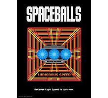 Spaceballs: Ludicrous Speed Photographic Print