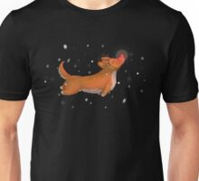 Rudolph, the Red Nosed Corgi Unisex T-Shirt