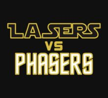 Lasers VS Phasers One Piece - Long Sleeve