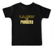 Lasers VS Phasers Kids Tee