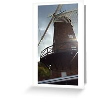 Green's Mill in Nottingham Greeting Card