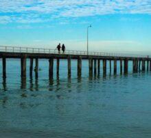 Seaford Pier Victoria Australia Sticker