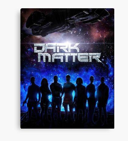 Dark Matter TV Series Canvas Print