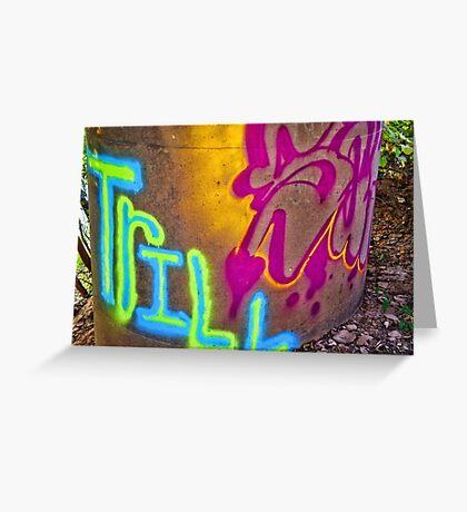 Graffiti 26 Greeting Card